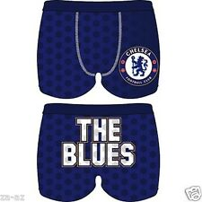 Chelsea Official Boys Football Cotton Boxer Shorts Boxers Trunks Underwear