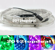 5M WS2811 IC 5050 30LED/M RGB White Pink Digital LED Strip (no need controller)