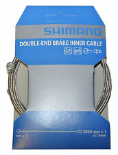 Shimano Brake line 1,6x2050 mm with Double nipple for MTB and Road bike