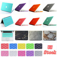 2in1 Matte Hard Case Cover + Keyboard Skin For Apple Macbook Air Pro 11 13 ''