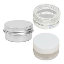 10PCS Cosmetic Eyeshadow Face Cream Lip Balm Container White WS