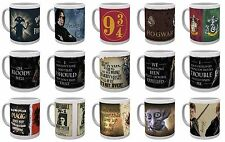 Official HARRY POTTER BOXED MUG HARRY DOBBY SNAPE CRESTS MAP 9/34 Great Gift