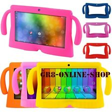 """7"""" Inch Soft Silicone Rubber Cover Case For Q8 Android Kids Girls Boys Tablet PC"""