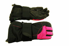 ZIENER Women's Snowboard Gloves Mabella as Pink Black 12766 Size 7 NEW