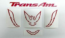 Trans Am Rear Panel Overlay Decal - 93-02 Trans Am