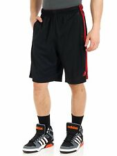 Adidas MENS Essential Climalite Gym Basketball Mesh Shorts Black SZ S M L 2XL