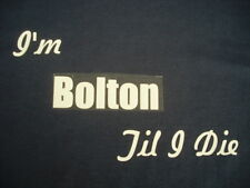 Bolton Wanderers T-Shirt or Sweat Shirt 4XL & 5XL Personalised Birthday Gift