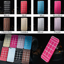 Aluminum Metal Sheet Shell Hard Case Back Cover For Apple iPhone 6 Air 4.7 DAY