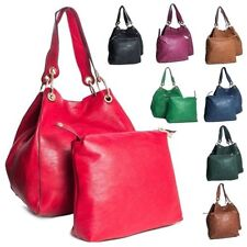 Big Handbag Shop Two in One Womens Bucket Style Large Shoulder Tote Bag