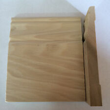 """5pc, 40ft, 3/4"""" x 5 1/4 to 7 1/4"""" Solid Wood CM-B-BASE Baseboard Moulding"""