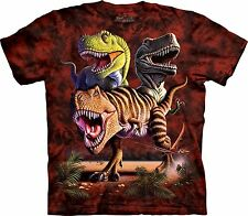Rex Collage -Dinosaur Shirt Child Unisex The Mountain