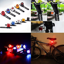 Stunning Bike Bicycle Helmet Red LED Rear Light 3 Modes Safety Tail Lamp Light