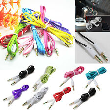 3.5mm AUX Cord Male to Male Stereo Audio Car Cable MobilePhones PC iPod MP3 M