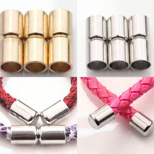 5/10 Sets Gold/Silver Plated Column Magnet Clasps Connectors Jewelry Findings