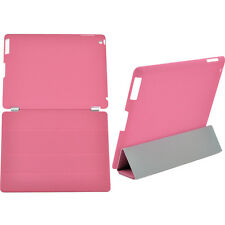Smart Cover Magnetic Leather Case Sleep Wake Stand +Hard Back For IPad 4 3 2 Hot