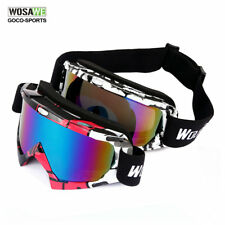 Eye Protection Eyewear Safety Goggles Glasses Windproof Sports Snowmobile Ski