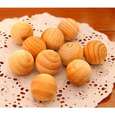 10/50/100 Fragrant Moth Balls Cedar Wood Protection Camphor Insect Control New