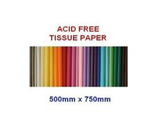 25 Sheets of Acid Free 50cm x 75cm Tissue Paper - 18gsm Wrapping 50.8cm 76.2cm