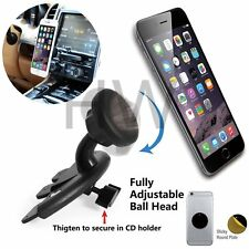 360°Magnetic Car Auto CD Slot Mount Holder Stand for Mobile Smart Cell Phones