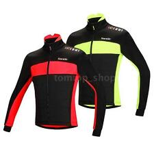 Fleece Thermal Cycling Jacket Jersey Riding Bicycle Bike Wind Coat 0~8℃ NF0E