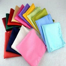 Hot Sale Men Pocket Square Hanky Handkerchief Plain Solid Wedding Formal Party