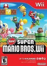 New Super Mario Bros. Wii (Nintendo Wii, 2009)  BRAND NEW SEALED IN BOX MANUAL