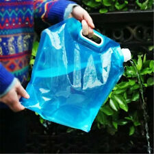 10L Folding Drinking Water Container Storage Lifting Bag Camping Hiking Picnic