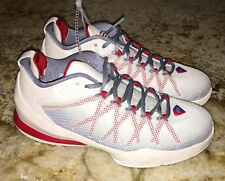 NEW Youth Girls Boys 5 NIKE Jordan CP3.VIII AE BG Low White Basketball Shoes