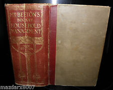 Mrs Beeton,s Cookery Book circa 1920 /1930