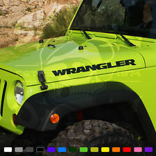Jeep Wrangler BLACK BEAR Edition Stickers Vinyl Graphics Decals JK New 2015 2016