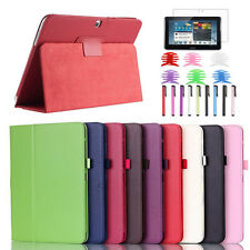 "Case Cover For Samsung Galaxy Tab 4 10.1"" SM-T530 /Tab 3 7"" P3200 T210+Film+Pen"