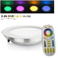 2.4G 12W Wireless Remote Control RGBWW RGB+WW+CW CCT Dimmable LED Downlight