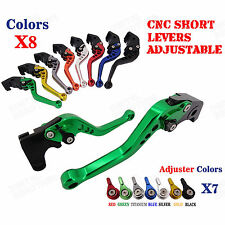 CNC Short Brake Clutch Levers for Triumph Speed Four 05-06 Speed Triple 04 05-07