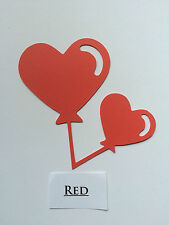Scrapbooking-Card-Die-Cut-Craft-Embellishment- Balloon Hearts
