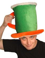 Irish Beer Hat Tankard Novelty Pint St Patricks Day Party Office Fancy Dress