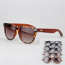 Unisex wood eyewear 100% UVA UVB 4 Colors choice sunshades UV400 sunglasses