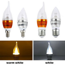 E14 E27 3W/ 9W Edison Filament COB LED Light Candle Bulb Lamp Energy Saving DW