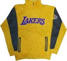 Los Angeles Lakers NBA Resonate Full Zip Track Jacket Mens Big And Tall Sizes
