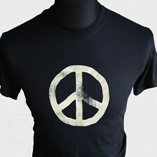 CND Logo T Shirt Retro Cool 70's 80's Campaign for Nuclear Disarmament
