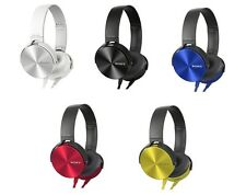 Sony MDR-XB450 EXTRA BASS 30 mm Driver Unit Overhead Headphones 5 colors New JP