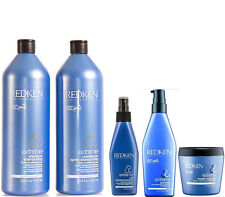Redken Extreme Shampoo and Conditioner 1 Litre 1000ml + Extreme Treatment
