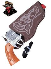 Adult Western Cowboy Fancy Dress Cop Sheriff Wild West Toy Gun & Holster Set