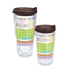 16 24 oz Hot Cold Drink Tumbler Periodic Table Chemistry Element Travel Coffee
