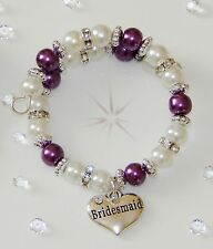 MEMORY WIRE  CHARM PEARL BRACELET FIT SMALL CHILD CHARM AND COLOUR CHOICER