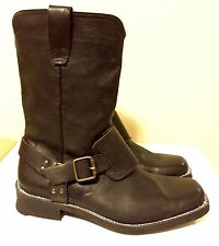 Size 9 & 9.5 JOHN VARVATOS (Made In Italy) Leather Mens Boot! Reg$695 Sale$595