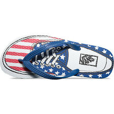 Vans Surf Hanelei Mens Footwear Sandals - Authentic Stars And Stripes All Sizes