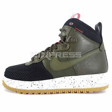 Nike Lunar Force 1 Duckboot [805899-001] NSW Casual Black/Dark Loden