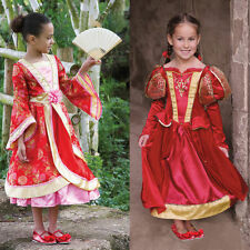 Girls Medieval Queen Or Oriental Princess Costume New World Book Day Fancy Dress