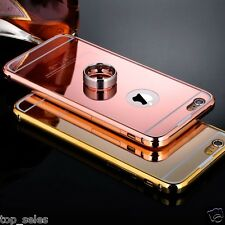 Luxury Aluminum Ultra-thin Mirror Metal Case Cover for Apple iPhone Models 6/ 6s
