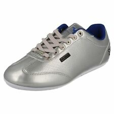 VOI JEANS MENS LACE UP GREY/SILVER TRAINERS- WINCHESTER II CC